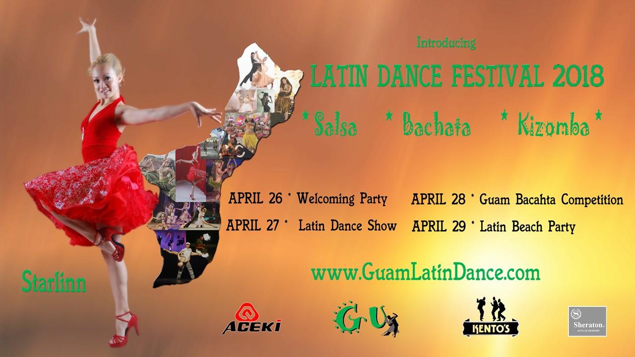 Guam Latin Dance Festival Poster